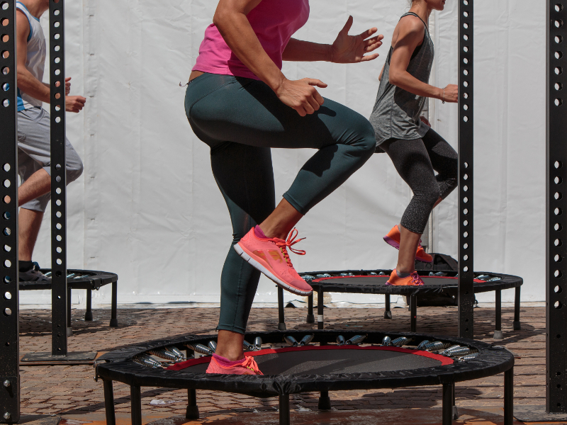 trampolina fitness opinie