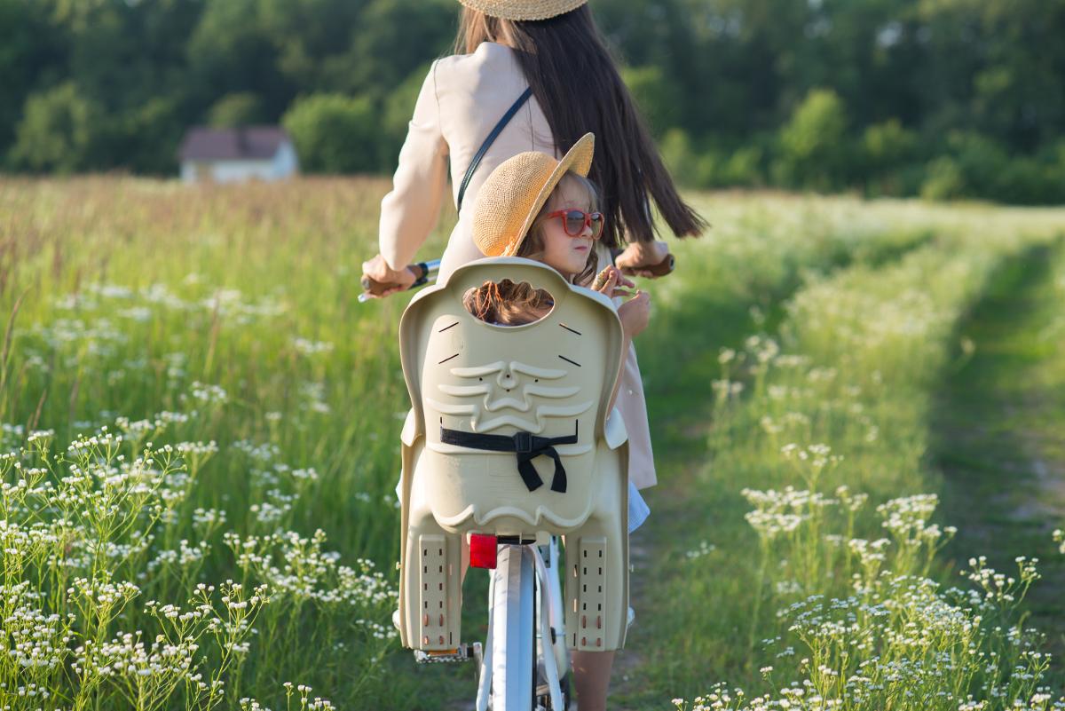 Fotelik na rower dla niemowlaka